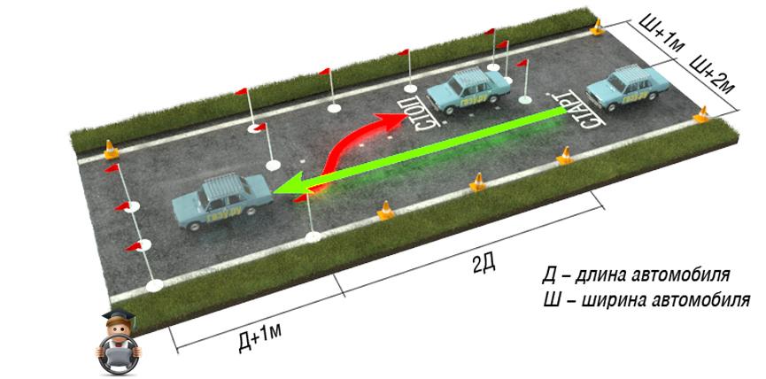 Как сделать параллельную парковку на полигоне6
